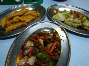 The three dishes that wrapped up our fun filled one day excursion !