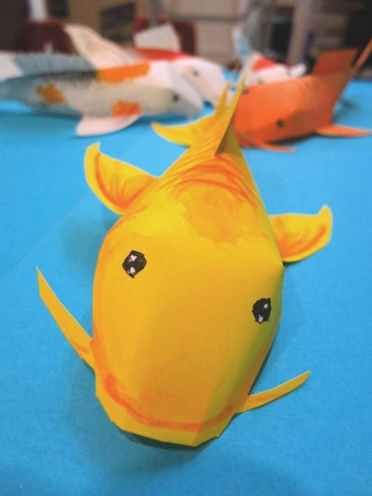 The smiling fish. It makes us smile every time we see this ;)